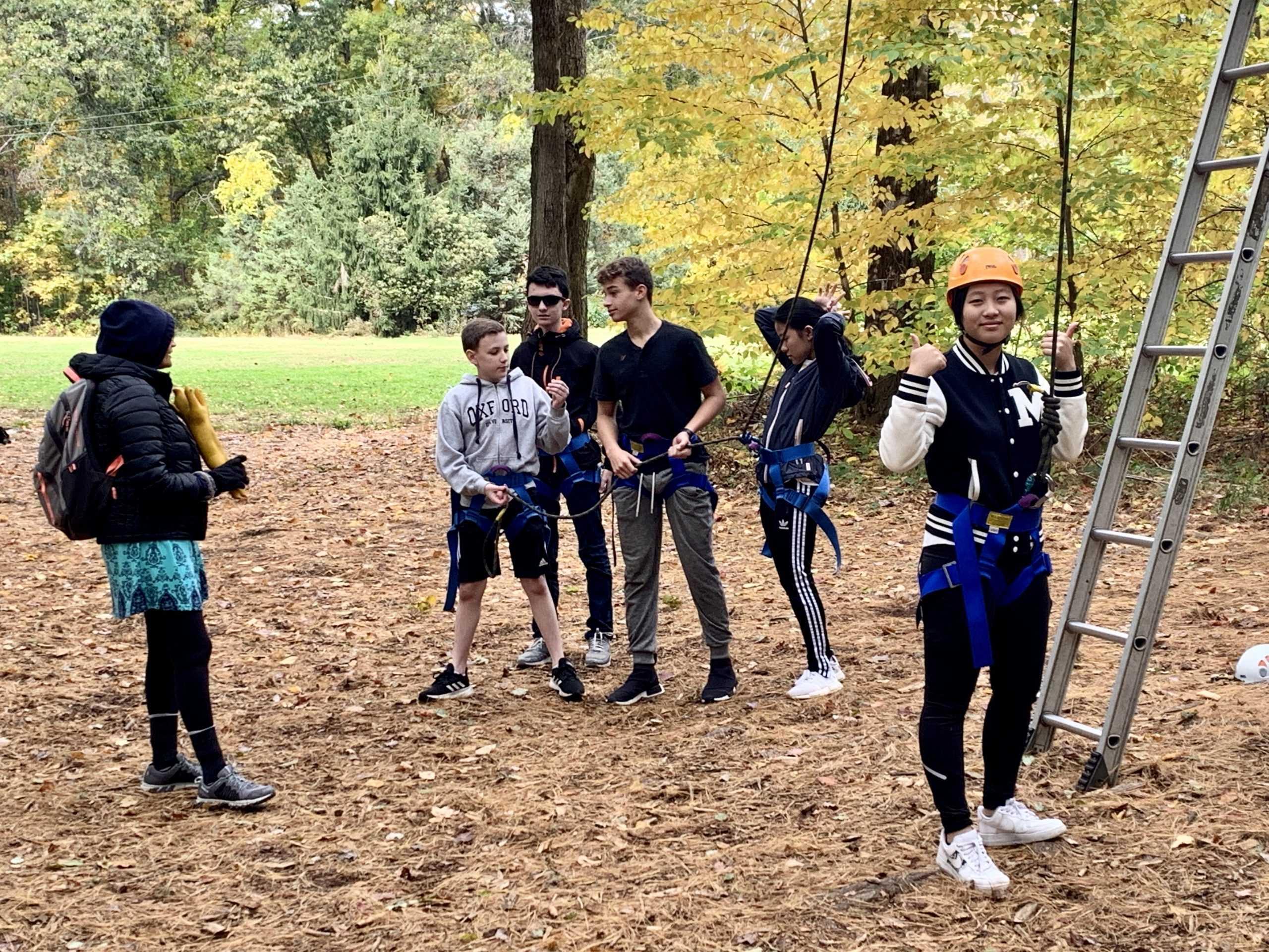 Students+bond+over+team+activities.+