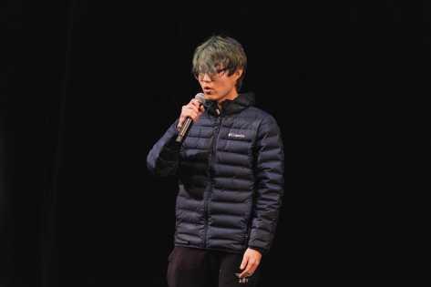 "James Wang 22 performs ""The Ordinary Road""."