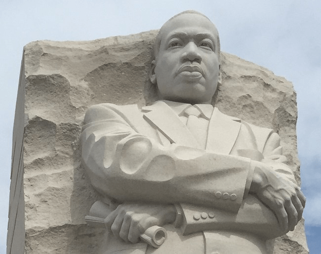 Martin Luther King, Jr. Memorial in Washington, D.C. Gator file photo.