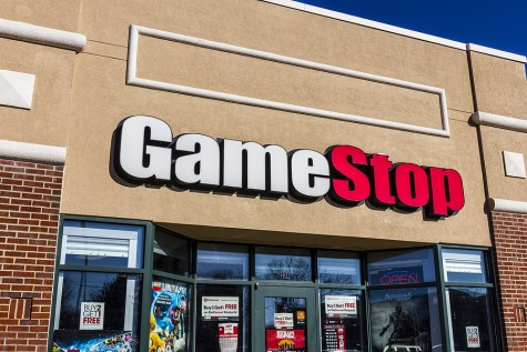 A GameStop Strip Mall Location.
