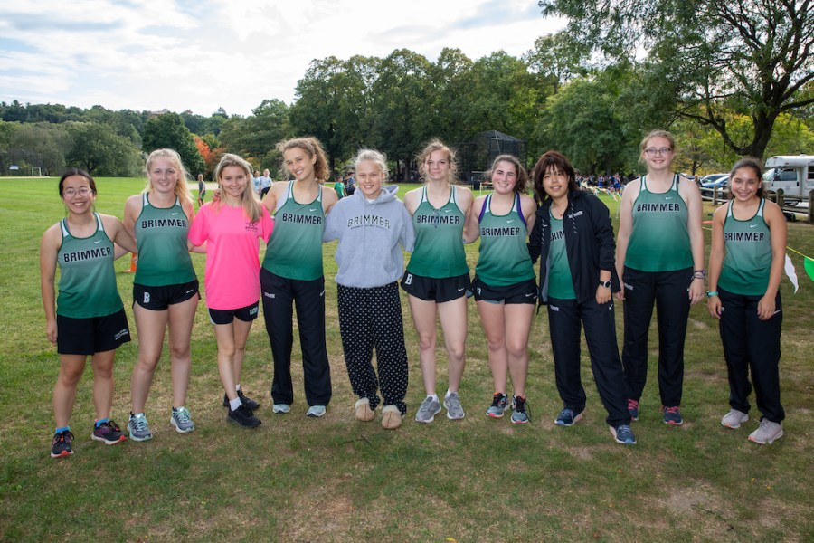 My cross country team after a meet junior year.