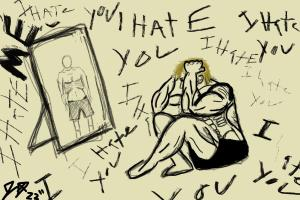 Therapy, while rough and very emotionally draining at times, has helped drastically. I look into the mirror, and I'm starting to see a more hopeful reflection staring back at me.Jackson Ostrowski
