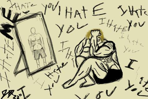 Therapy, while rough and very emotionally draining at times, has helped drastically. I look into the mirror, and I