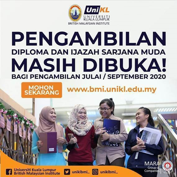 UniKL July Intake Applications Are Still Open