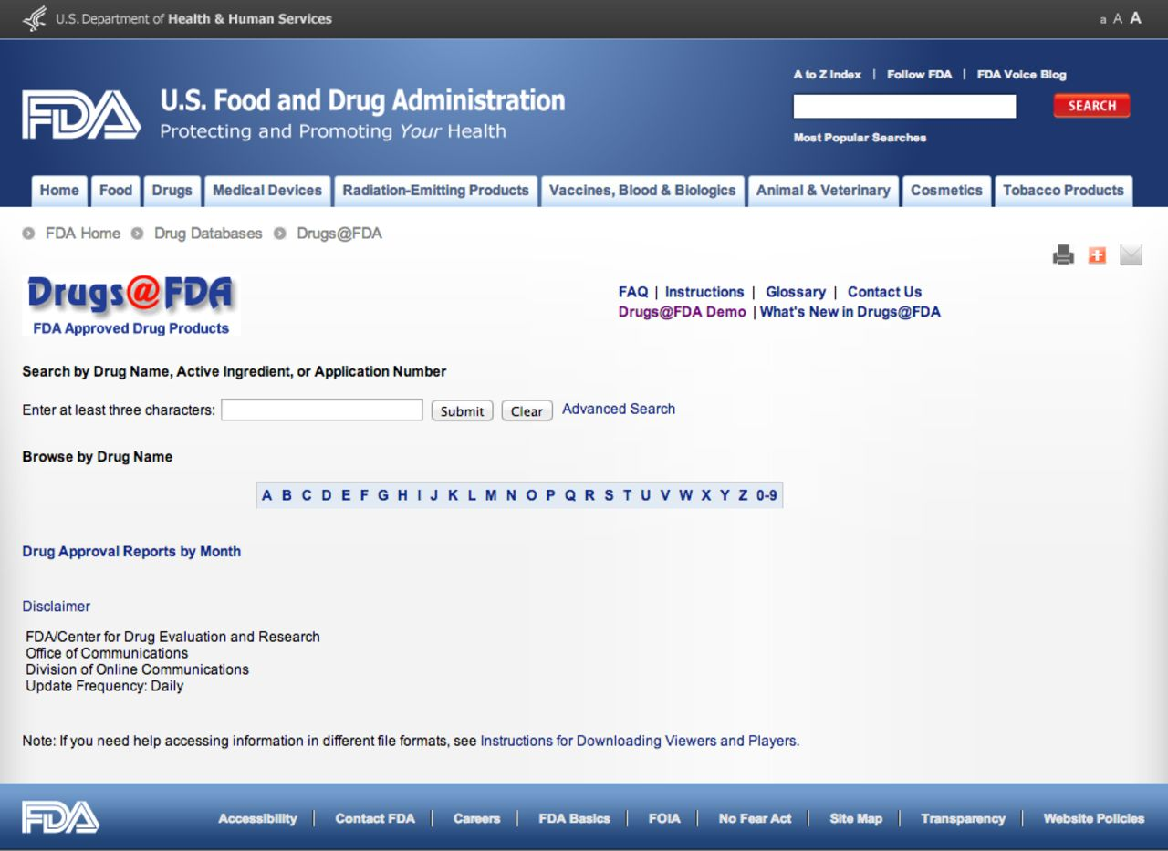How To Access And Process FDA Drug Approval Packages For