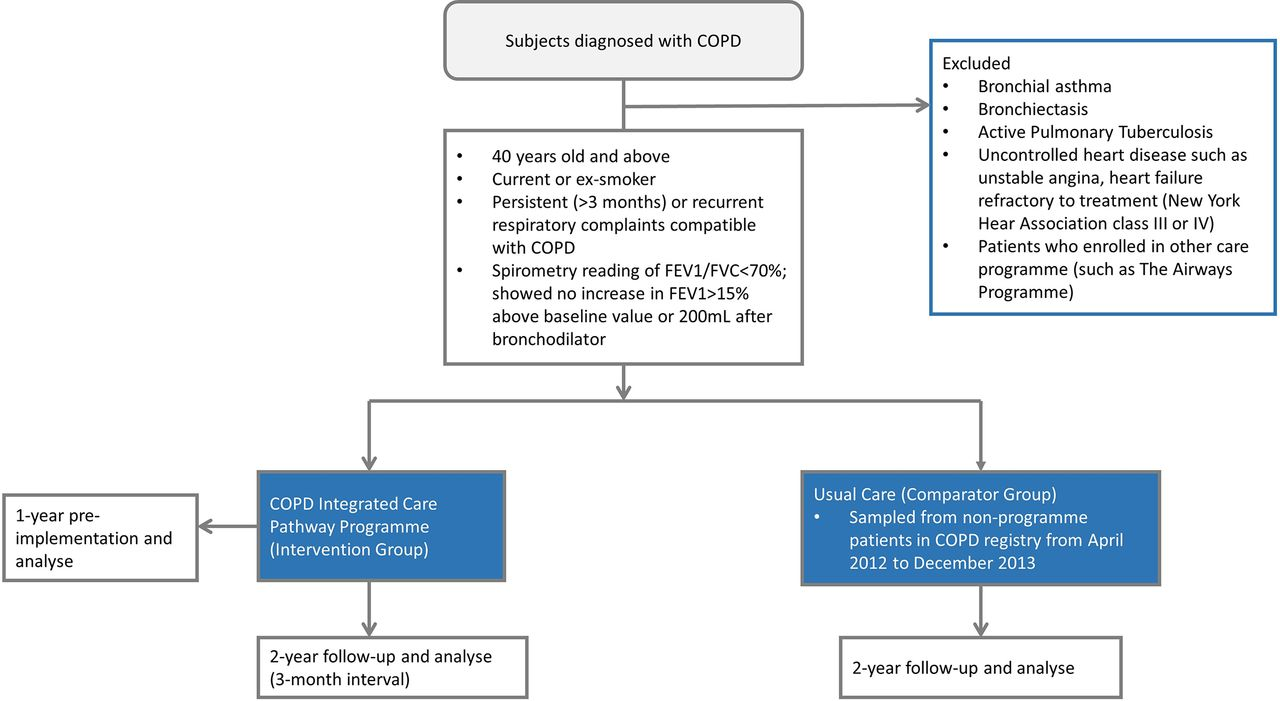 Effectiveness Of A Chronic Obstructive Pulmonary Disease