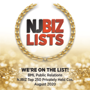 BML Public Relations Top 250 NJBIZ