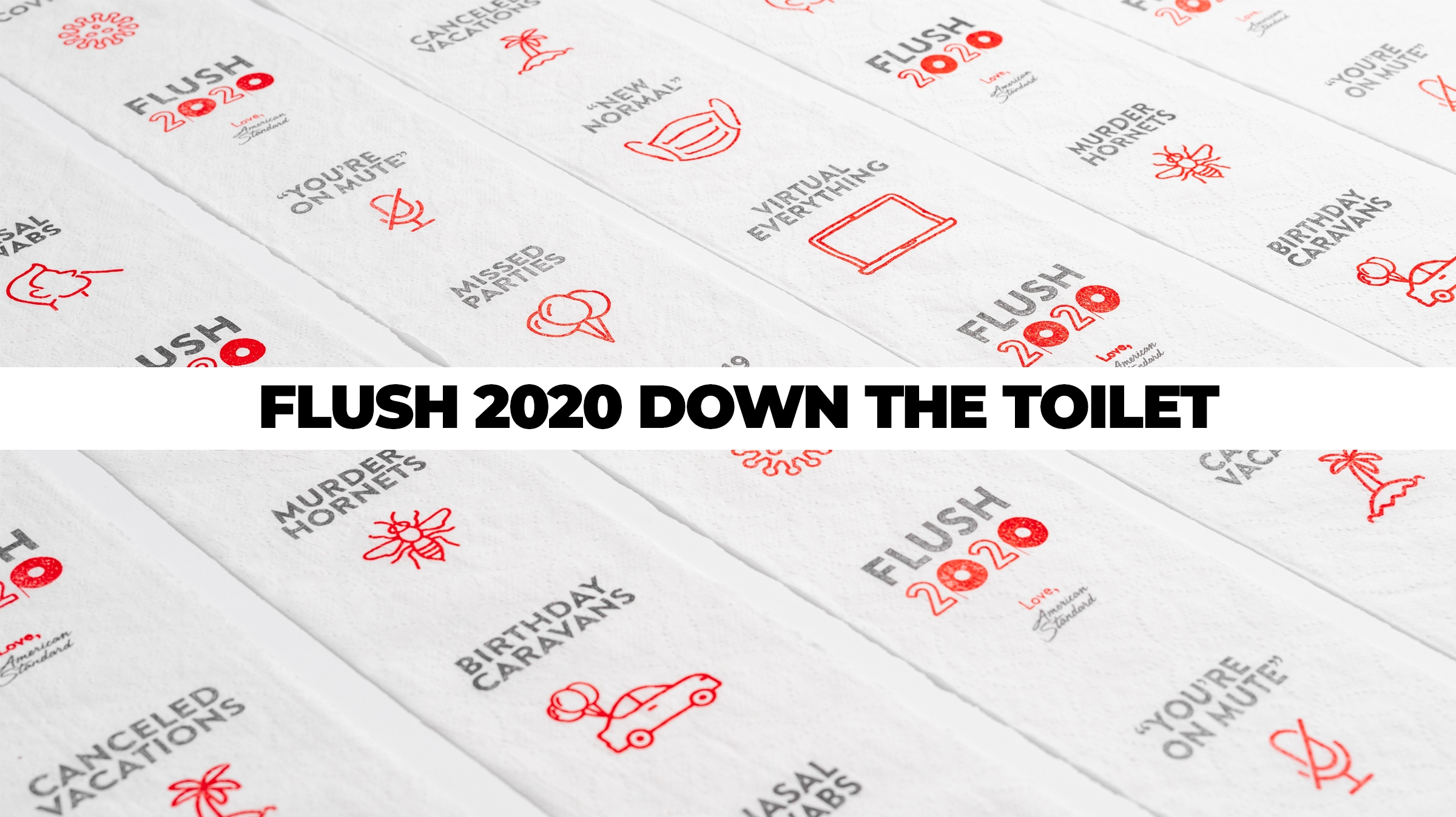 American Standard Invites Everyone to Literally #Flush2020