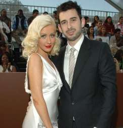 "30/37 SLIDES | While doing press for her 2010 album, ""Bionic,"" Christina Aguilera gushed about her supportive hubby, Jordan Bratman, who is the father to their son, Max. But Xtina's album tanked, and soon after the couple went on a vacation together, the singer filed for divorce in 2010."
