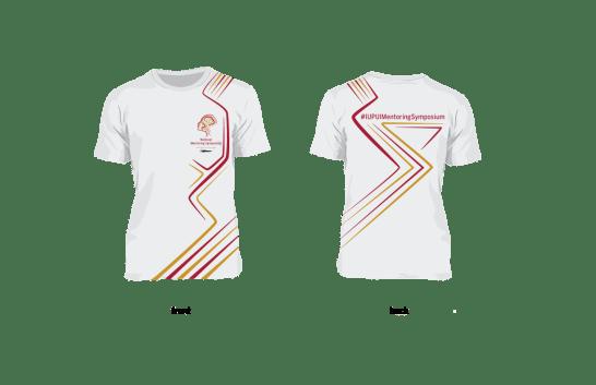 IUPUI National Mentoring Symposium T-shirt