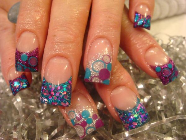 Beautiful Cute Designs For Acrylic Nails