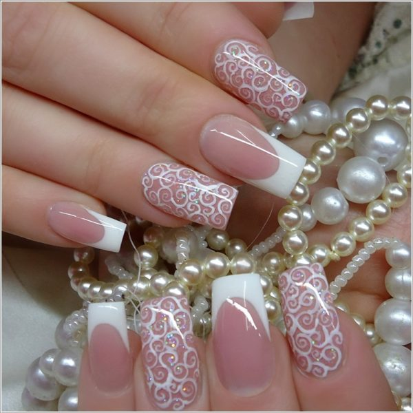 Beautiful Nail Art For Wedding Bmodish
