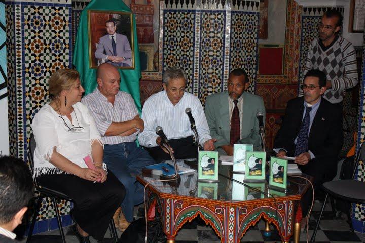 Edith Checa, Patricio, el Cónsul de España, el alcalde de Tetuán y Ahmed