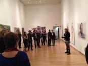 Joan Cox's Artist Talk at Silber Gallery, Goucher College