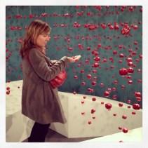 cherries ! Christina Bilotte's installation at S33