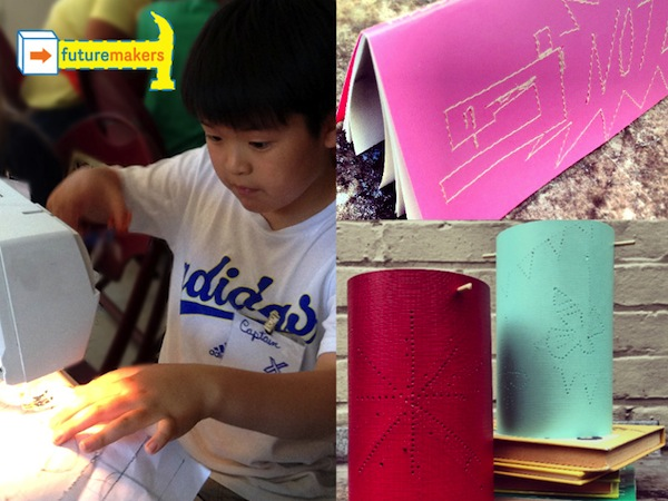 futuremakers - family circuits - lanterns and sketchbooks