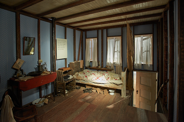 The Lincoln Bedroom, 2013, Installation View, Photo by Dick Mitchell. Courtesy of C24 Gallery.