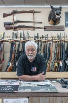 Clayton at the Gun Shop, De Soto, Missouri, 2017