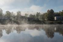 Morning Fog, Parkersburg, West Virginia, 2015