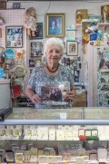 Carol at the Jewelry Shop, De Soto, Missouri, 2017