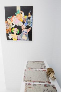 Gabriela Rivera-Morales (painting), Ada O'Higgins (paper), Yves B. Golden (sculpture)