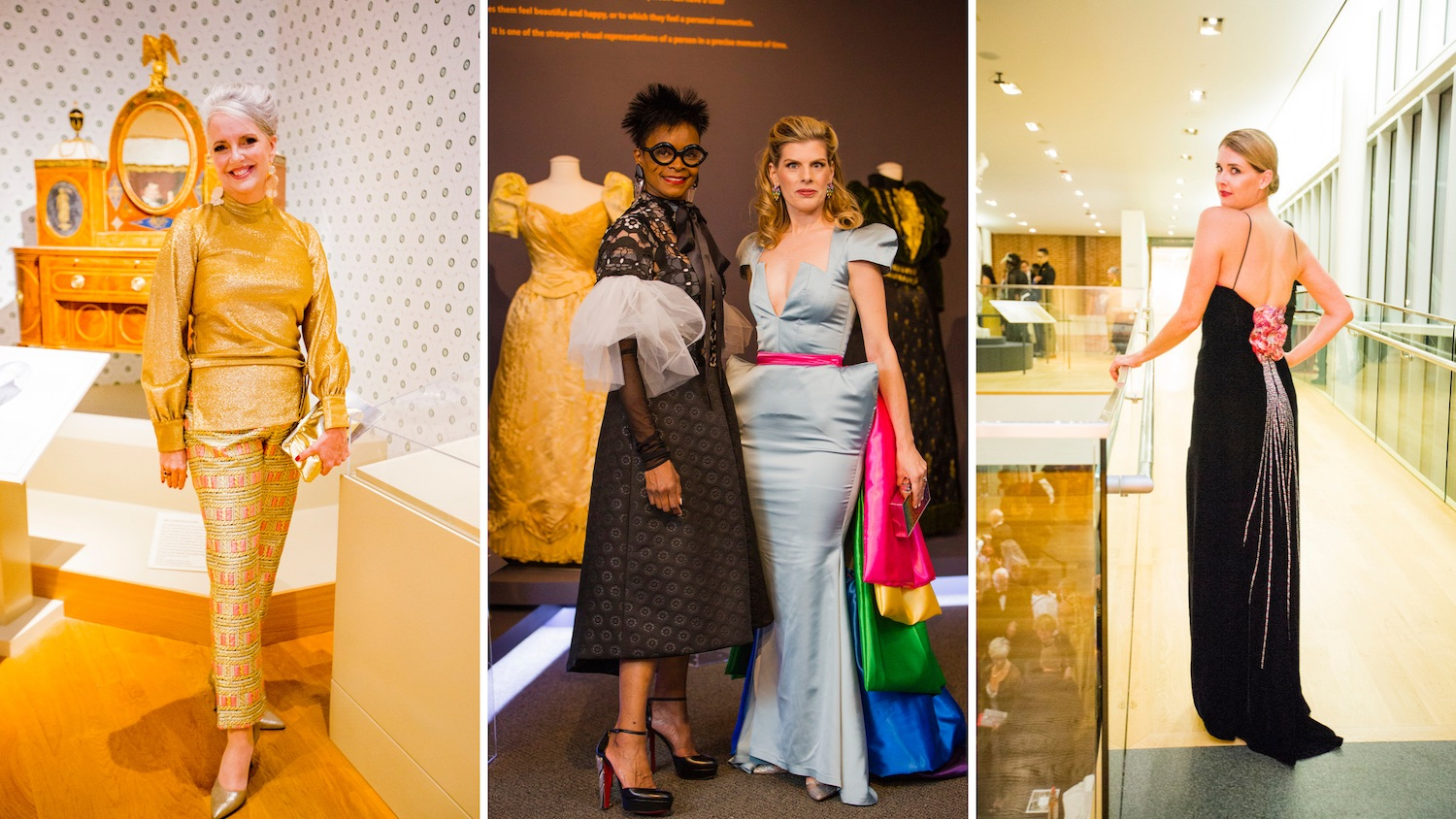 What They Re Wearing Spectrum Of Fashion Gala At The Maryland Historical Society Bmoreart