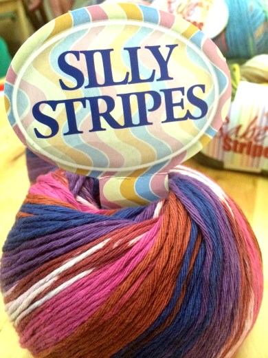 Stripe it up with 100% cotton