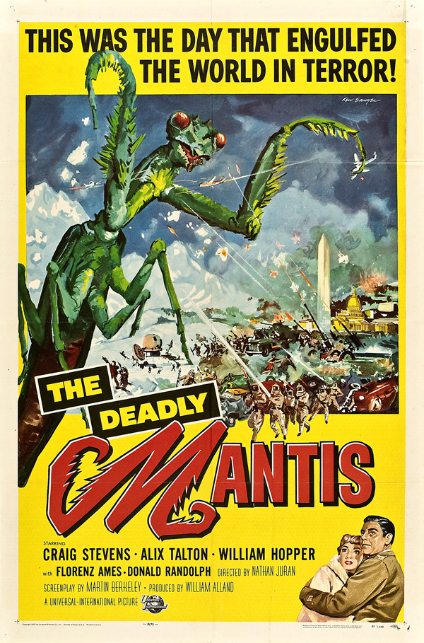 The Deadly Mantis (1957) by Gillythek @echidnabot
