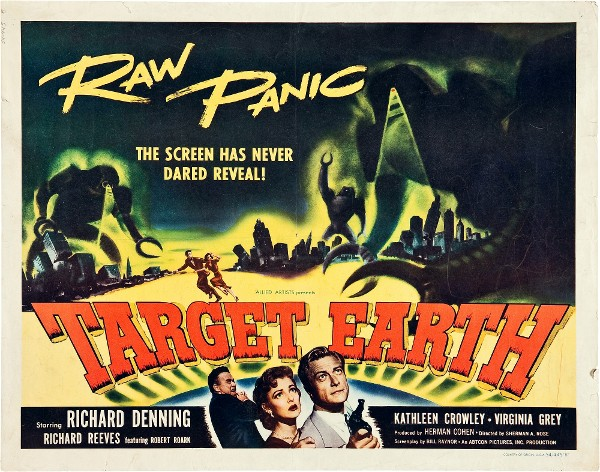 #BMovieManiacs Event: Target Earth