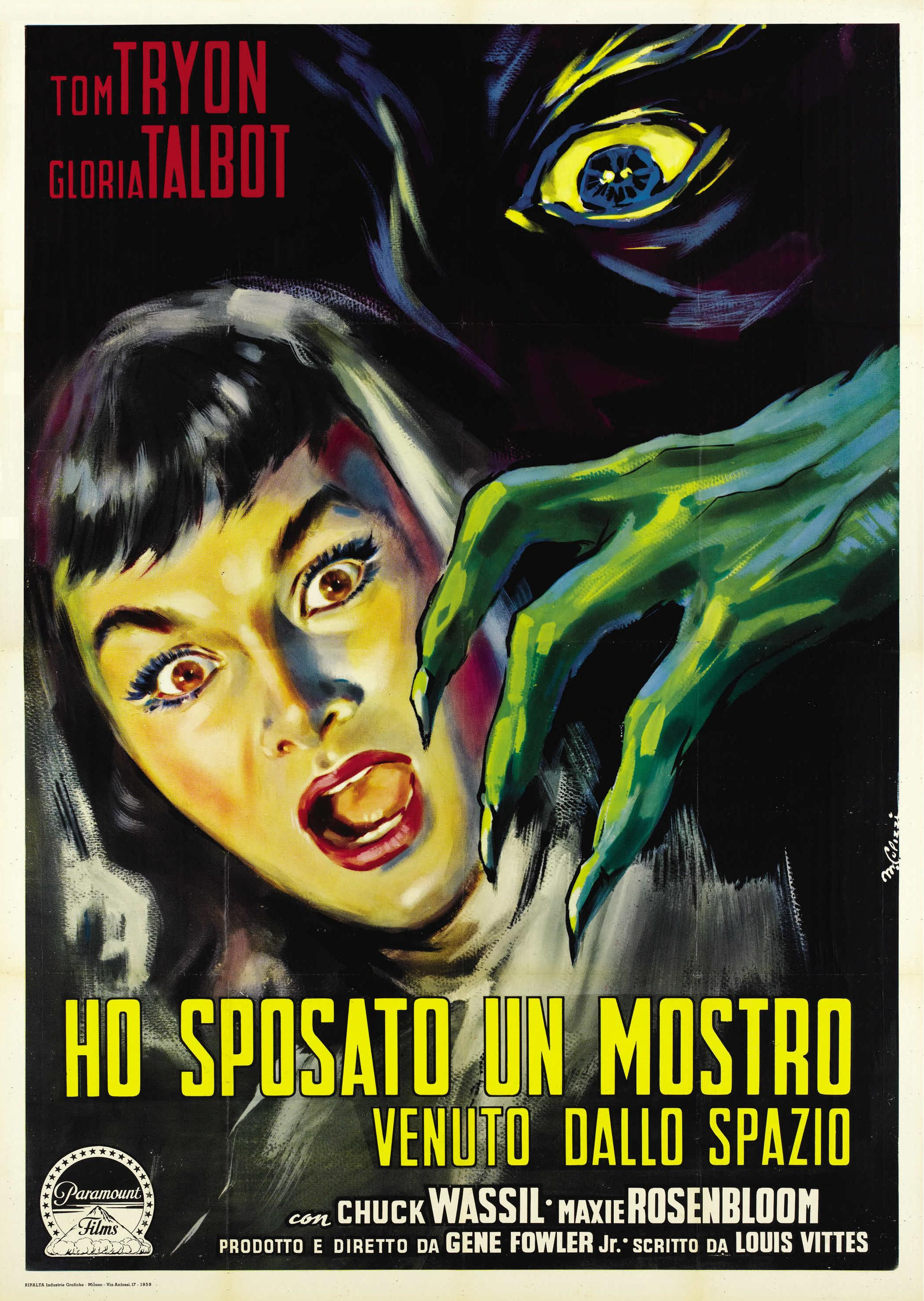 #BMovieManiacs Event!!! I Married a Monster From Outer Space (1958)