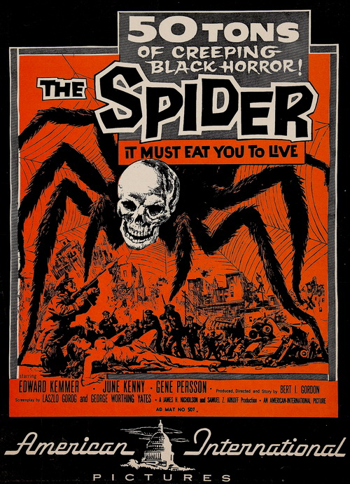 #BMovieManiacs Event: Earth vs the Spider (1958)