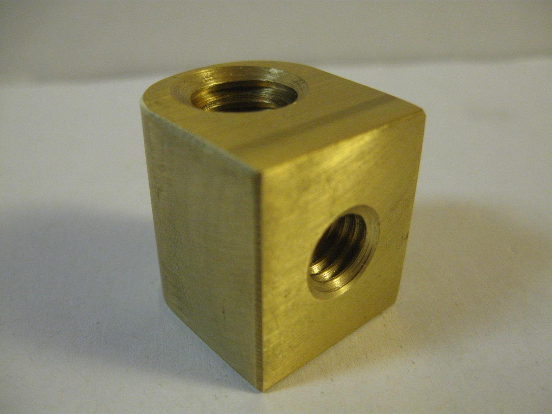 "Clausing 5900-37 Lathe Cross Feed Nut 5//8/""-10 Left Hand ACME Thread"
