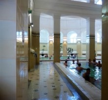 Temperature of indoor pools from 32 to 38 degrees. C