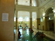 One of the 15 indoor pools.