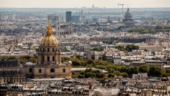 Domes and Cranes, Paris