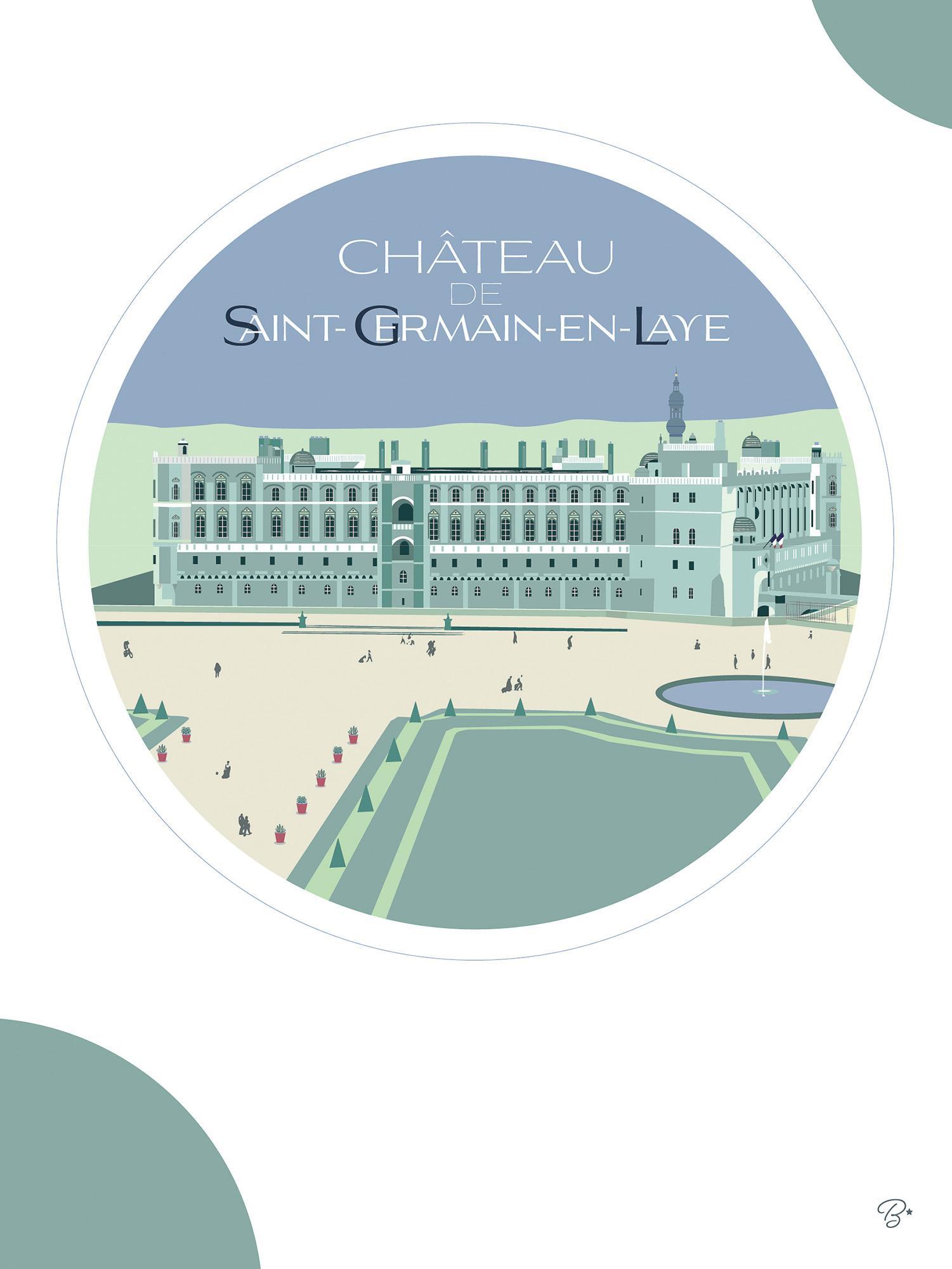 Chateau-bulles-vertes