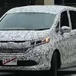 All New Honda Freed Kepergok Tes Jalan