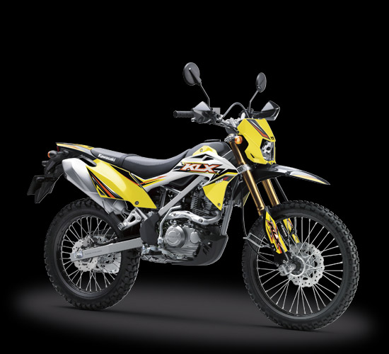 KLX150bf-SE-yellow