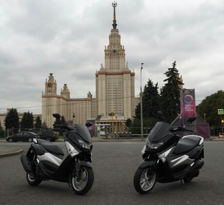 Yamaha NM-X Rusia