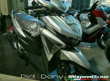 All New Yamaha Mio Soul GT125 SSS AKS 2017 Silver matte