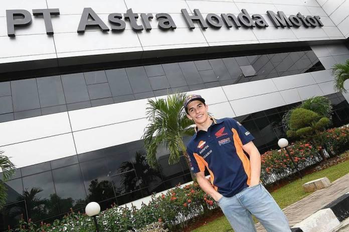 Marc Marquez di Indonesia