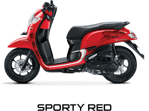 honda-scoopy-2017-red
