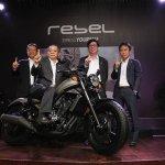 AHM Rilis Honda CMX500 Rebel 2017, Melengkapi Jajaran Big Bike Honda Di Indonesia!