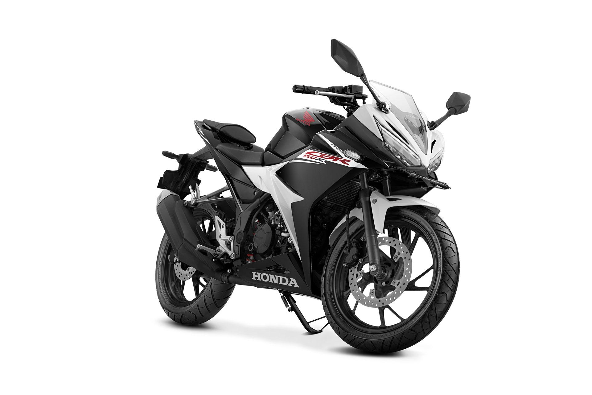 Honda cbr150r terbaru 2017 putih hitam