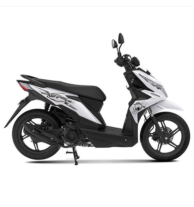 All New Honda Beat Street 2017 Ada Warna Putih Metalik Harga Naik