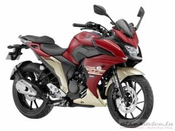 Yamaha Fazer 250 2017 India Warna Merah