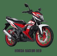 Honda Sonic 2018 Merah Putih AHRT/Honda Racing Red