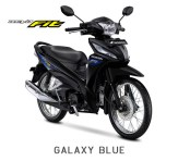 Honda Revo Fit 2018 Warna Hitam Stripping Biru/Galaxy Blue