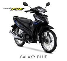 Honda Revo Fit 2018 Warna Hitam Stripping Biru/Galaxy Blue