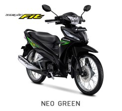 Honda Revo Fit 2018 Warna Hitam Stripping Hijau/Neo Green